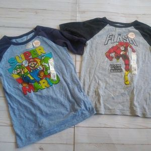 2 Boys Collectible Jumping Beans Character Tee